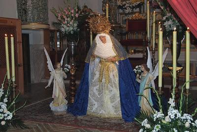 El Toboso estrena una nueva imagen de Nuestra Señora de La Esperanza en su Soledad Santísima