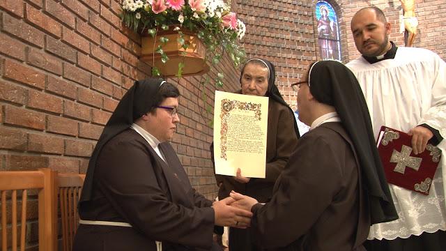 Lahermana Blanca Lila profesó solemnemente dentro de la Orden de Santa Clara en ElToboso