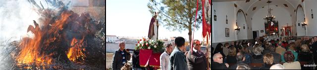 «Por San Blas… El Toboso»