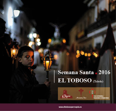 Programa de Semana Santa 2016 de El Toboso