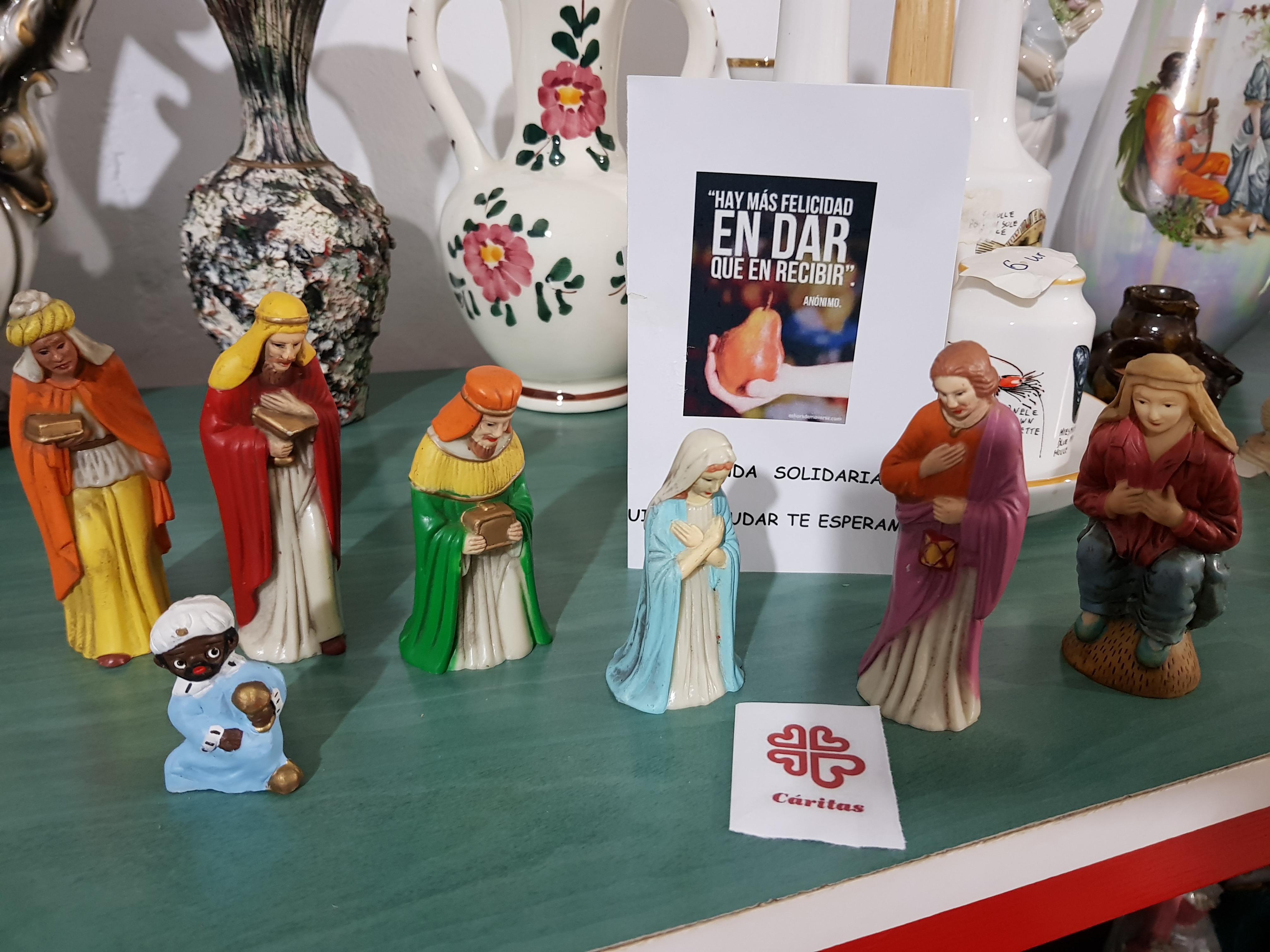 «Mercadillo Solidario» en la Navidad de El Toboso