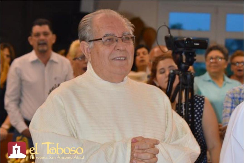 """Misionero y toboseño P. José Vicente Martínez, """"bodas de oro sacerdotales"""" (1)"""