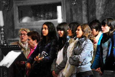 El Coro Parroquial participa en el tradicional Festival Benéfico de Villancicos de El Toboso