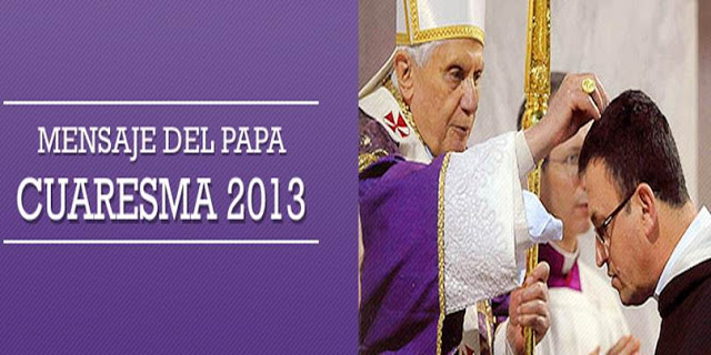 Mensaje Cuaresma 2013