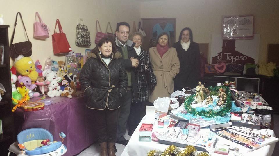 «Mercadillo Solidario», antesala de la Navidad de El Toboso