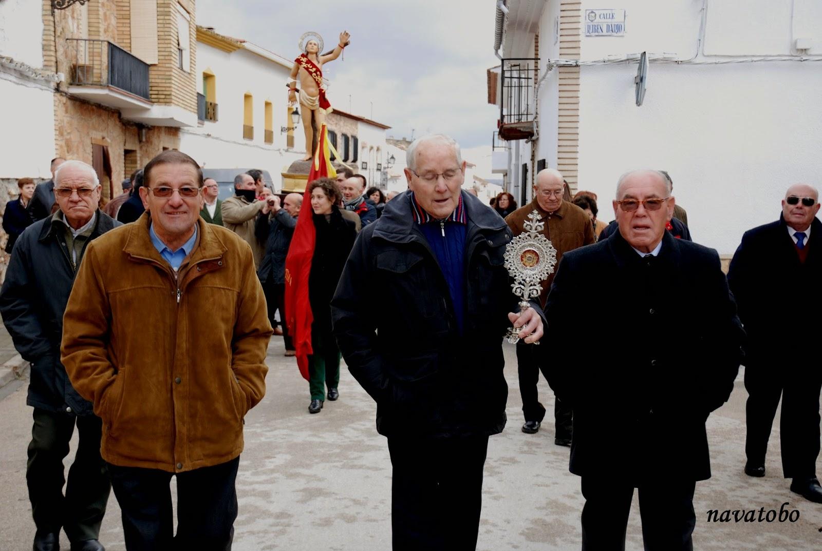 Fiestas de «San Antón y San Sebastián» en El Toboso