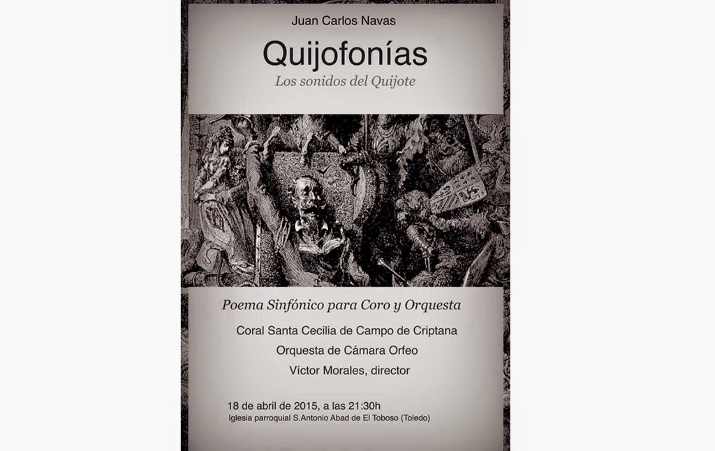 La Catedral de La Mancha acoge el estreno musical «Quijofonías»