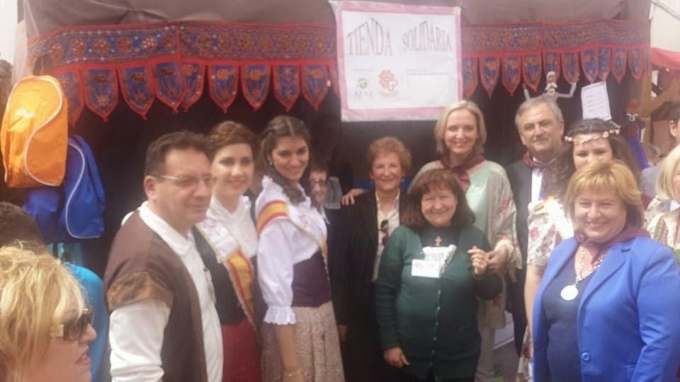 AFAR-Cáritas Parroquial en el Mercado Cervantino de El Toboso
