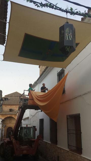 «Ya huele a Corpus» en El Toboso
