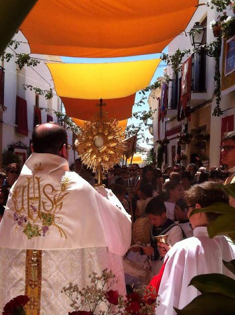Día grande de Corpus Christi en El Toboso