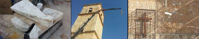 En obras la «gran torre» de la Iglesia de El Toboso que en su día vieron Don Quijote y Sancho, hace ahora cuatrocientos años