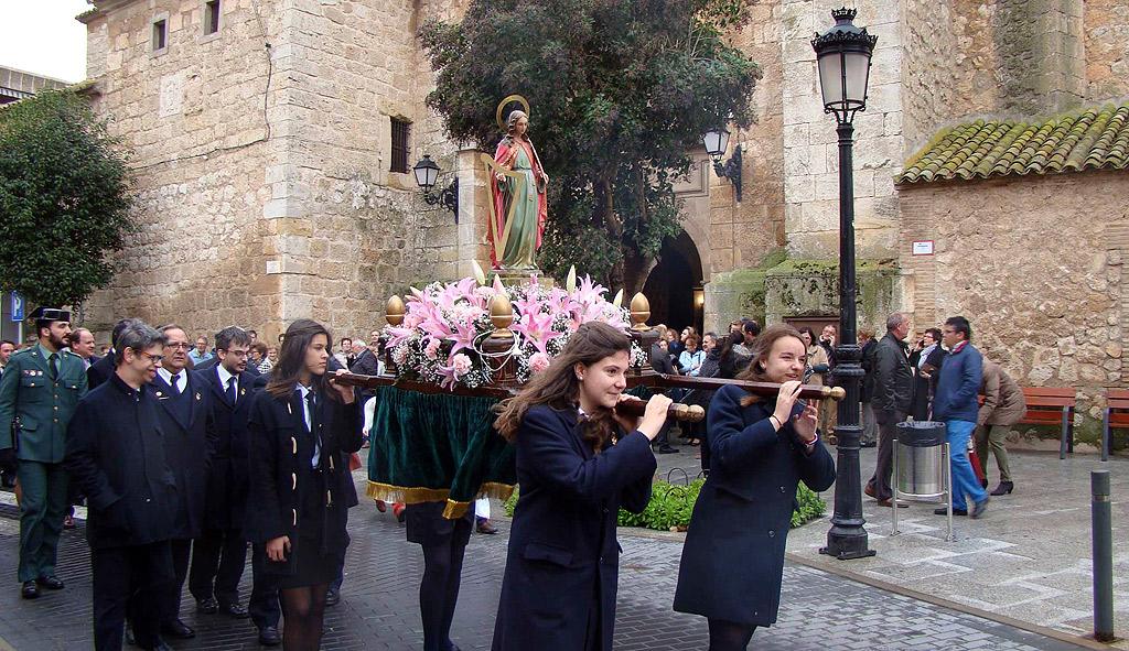 Fiesta de Santa Cecilia y Virgen Milagrosa