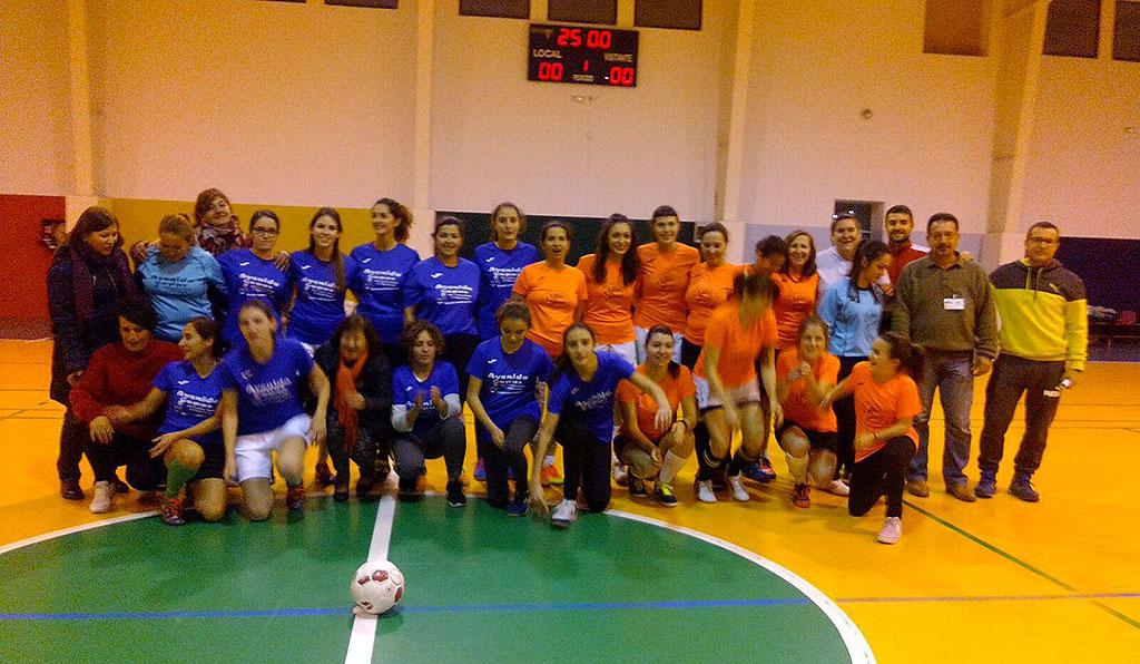 Deporte solidario a favor de Cáritas Parroquial de El Toboso