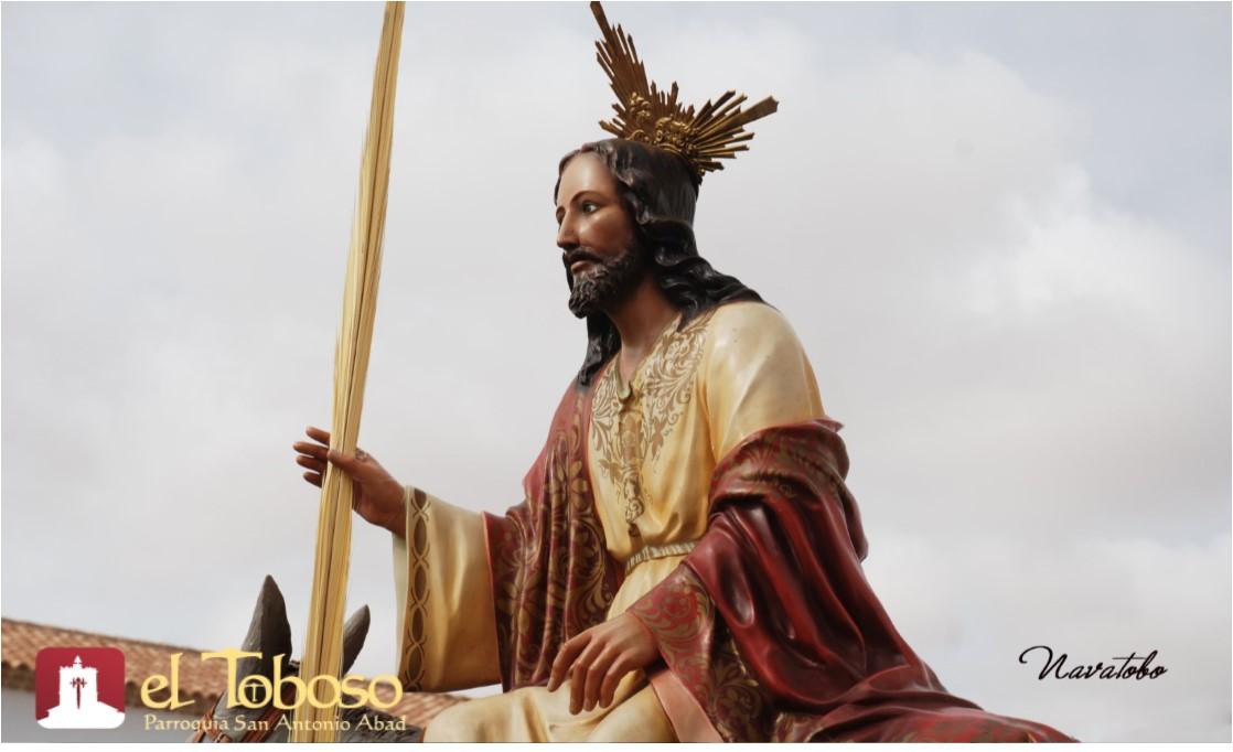 La procesión de La Borriquilla, primera en ponerse en la calle en la Semana Santa 2018 de El Toboso