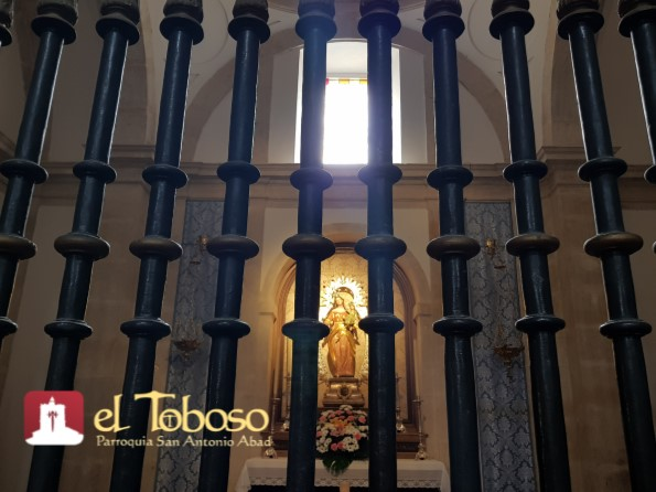 Todo listo en la Parroquia de El Toboso para el «Canto de los Mayos» a su Patrona, la Virgen de los Remedios, el próximo 30 de abril
